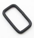 B-LP-01 1063 Black Metal Rectangular Loop