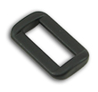 B-LP-02 0750 Black Plastic Rectangular Loop