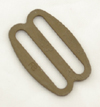 Metal Single-bar Slides Thin 1 Inch-wide Marpat Coyote Single Pieces