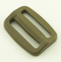 Plastic Single-bar Slides (1a) 1 Inch-wide Tan 499 By-the-bag