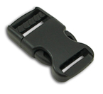 B-SR-02 0625 Black Side Release Buckle