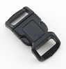 B-SR-03 0375 Black Contoured Side Release Buckle