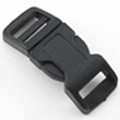 B-SR-03 0500 Black Contoured Side Release Buckle