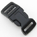 B-SR-03 0625 Black Contoured Side Release Buckle