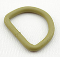 Metal D-rings 8-gauge Welded 1 Inch-wide Tan 499 Single Pieces