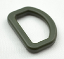 Plastic Made-in-usa D-rings 1 Inch-wide Ranger Single Pieces