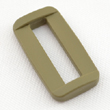 Plastic Rectangular Loops 1 Inch-wide Tan 499 By-the-bag