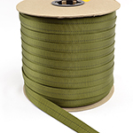 Mil-w-5625 Tubular Nylon Webbing 1 Inch-wide Olive Drab By-the-yard