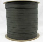 Mil-w-5625 Tubular Nylon Webbing 1 Inch-wide Wolf Gray By-the-roll