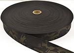 Nylon Webbing Mil-spec Mil-w-17337 1-1/2 Inch-wide Black Multicam Camouflage 1-sided By-the-roll