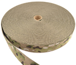 Heavy Nylon Webbing 1-3/4 Inch-wide Multicam By-the-roll