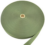 Mil-w-4088 Type 8 Mil-spec Nylon Webbing 1-23/32 Inch-wide Camo Green By-the-roll