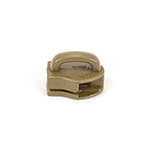 Metal Zipper Sliders Closed Bale #9 Marpat Coyote Single Pieces