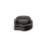 Metal Zipper Sliders Reversed Closed Bale #9 Black By-the-bag