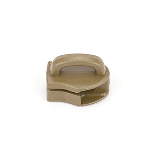 Metal Zipper Sliders Reversed Closed Bale #9 Marpat Coyote By-the-bag