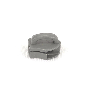 Metal Zipper Sliders Reversed Closed Bale #9 Wolf Gray By-the-bag